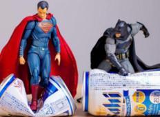 Akcijske figurice so oživele s pomočjo Japonskega umetnika!