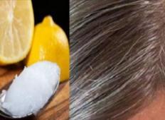 Limona in kokosovo olje - Sivi lasje bodo znova rjavi!