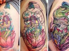Kreativni tattooji, ki so do potankosti spremenili slabe izbire v nekaj čudovitega!